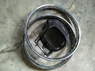 Stock rim and Cowling