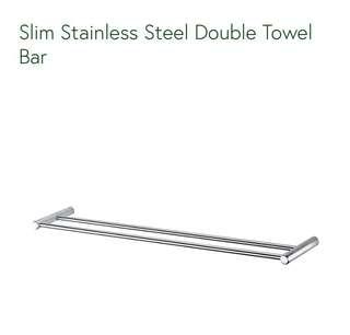 Hava Asia Double Towel Bar