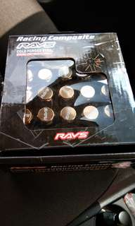 Rays racing wheel nut