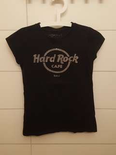HARD ROCK CAFE T-SHIRT black size XS
