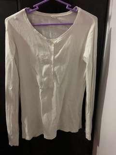 White longsleeve shirt