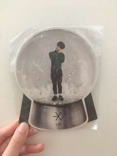 EXO LAY Miracles in December 坐枱小卡