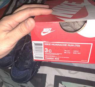 100% Original Baby Shoes NIKE Huarache 3c