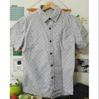 🚚 日系條紋襯衫