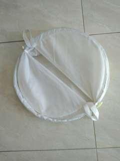 #Carohb# Laoudry Bag Putih bisa dilipat