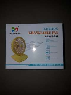 Fashion Changeable Fan