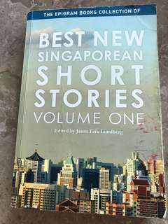 Best new Singaporean short stories