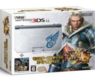 New Nintendo 3DS LL Monster Hunter Ultimate Special Edition