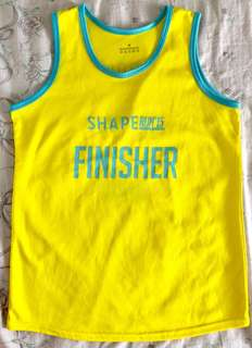 Shape Run 2015 Finisher Running Top