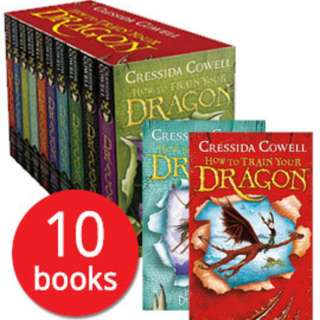 How To Train Your Dragon Cressida Cromwell 10 books set