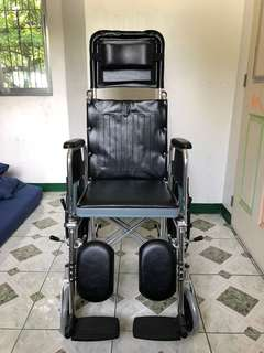 Procare Reclining Wheelchair with Mag Wheels