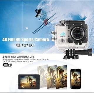 Ultra full HD 4k action camera