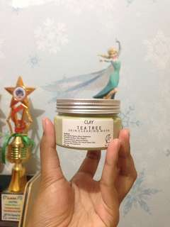Masker clay tea tree