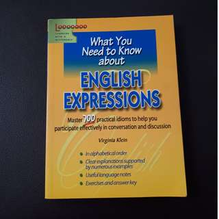 What You Need to Know about English Expressions