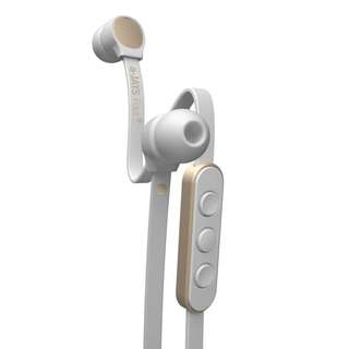 Jays A-Jays Four+ Earphones with Mic for Android (White/Gold)