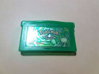 GBA Advance Pokemon Leafgreen Original