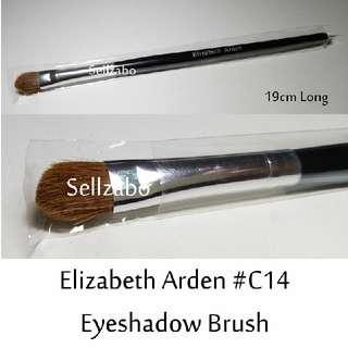 #C14 : Brush : Elizabeth Arden : Brushes : Angled : Eyes Shadows : Eyeshadows : Eyesshadows : Powder : Black Colour : Applicators : Highlights : Face : Facial : Makeup : Cosmetics : Beauty : Tools : Sellzabo