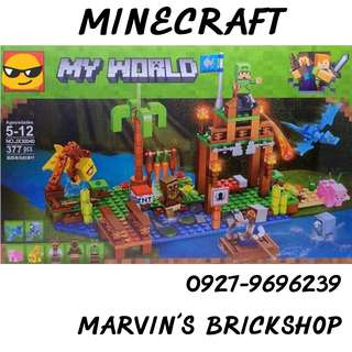 For Sale MINECRAFT My World Building Blocks Toy
