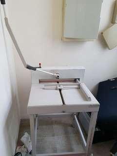 Paper Cutter C/W Stand original price $1200