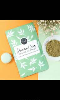 Crushlicious Green Tea Organic Face Mask