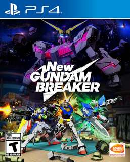 Brand New R3 PS4 New Gundam Breaker