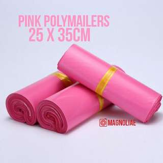 Pink Polymailers