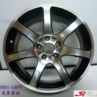 225/40/18 KUMHO 錦湖 PS91 搭配18吋 5/114 台製鋁圈 清倉成本裝 4款任選