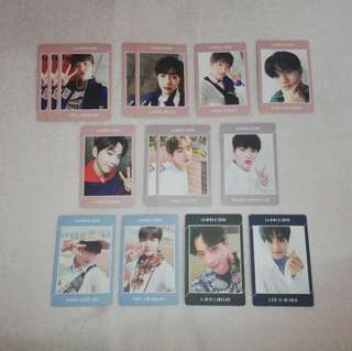Wanna One Undivided Photocard