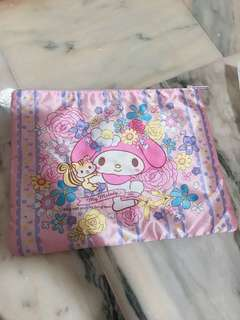 INSTOCK - dual side my melody medium size pouch