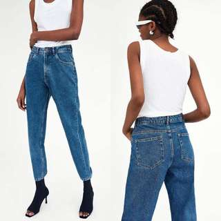 ZARA CLASSIC MOM FIT JEANS