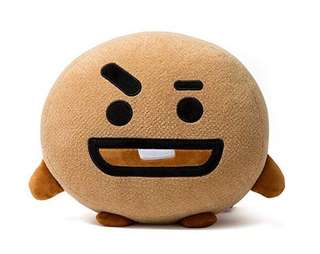 BTS BT21 30 cm Cushion Shooky and Face Plush Doll Tata Cooky Shooky Chimmy Koya