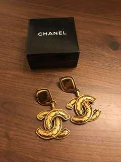 🚚 Chanel vintage 香奈兒耳環 古董 復古 耳環