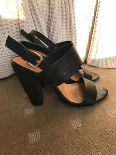 Spurr black heels