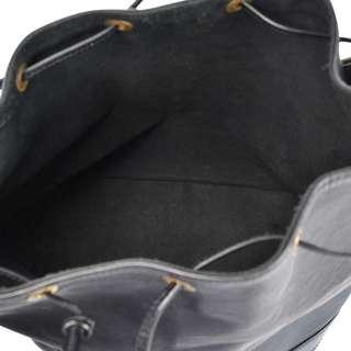 Louis Vuitton epi noe black bucket bag in excellent condition