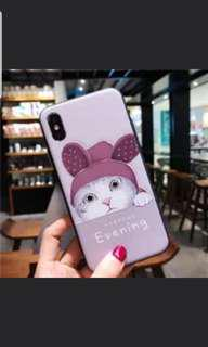 🚚 New iphone x case (rabbit ear cat)now offer$8