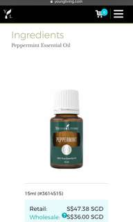 Young Living Peppermint 15ml