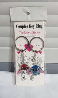 STITCH COUPLE KEYCHAIN