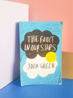 DISC 10% ALL ITEM MUST GO! BEFORE :  34K The fault in our Stars