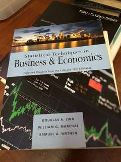 Statistical Techniques in Business & Economics