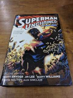 Superman Unchained Deluxe Hardcover