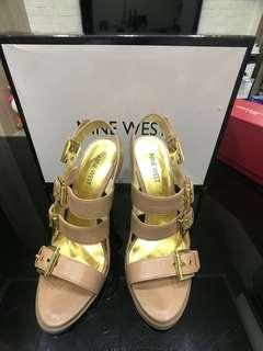 🚚 Nine West 裸色高跟鞋 9.9成新