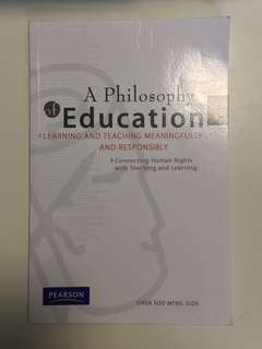 🚚 A Philosophy of Education: Learning and Teaching Meaningfully and Responsibly, Connecting Human Rights with Teaching and Learning