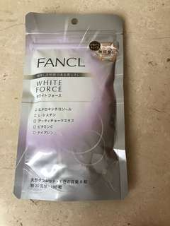 Fancl WhiteForce Supplement direct from Japan
