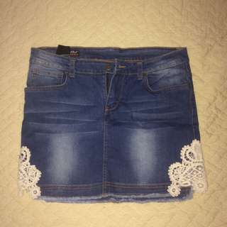 RRJ Denim Skirt