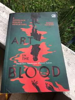 Art in the blood - Sherlock Holmes