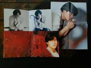 郭富城「沒有妳的愛」CD附小海報及 寫真小册子