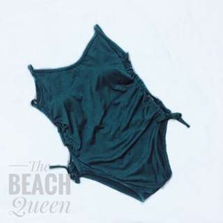 jade green one piece