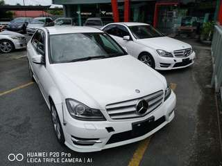 2 UNIT MERC BENZ C180 AVG (AMG BODYKIT)
