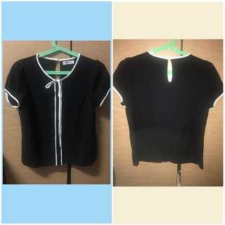 Preloved black blouse