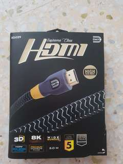 HDMI 8K cable with ETHERNET